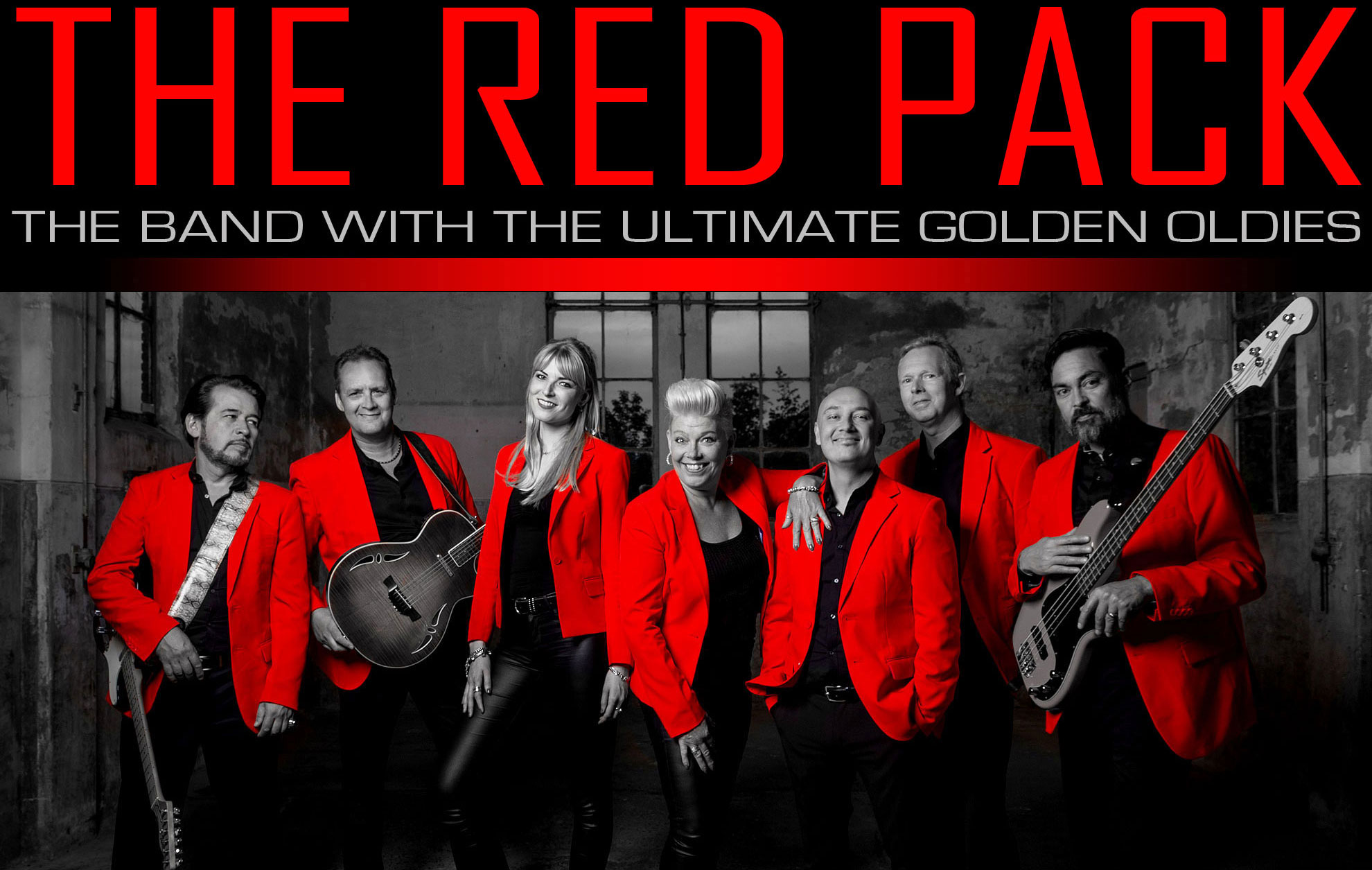 The Red Pack - The Band With The Ultimate Golden Oldies